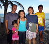Jeremy, his two daughters, Jamaica and Mona, Zung & Uncle Bohdy