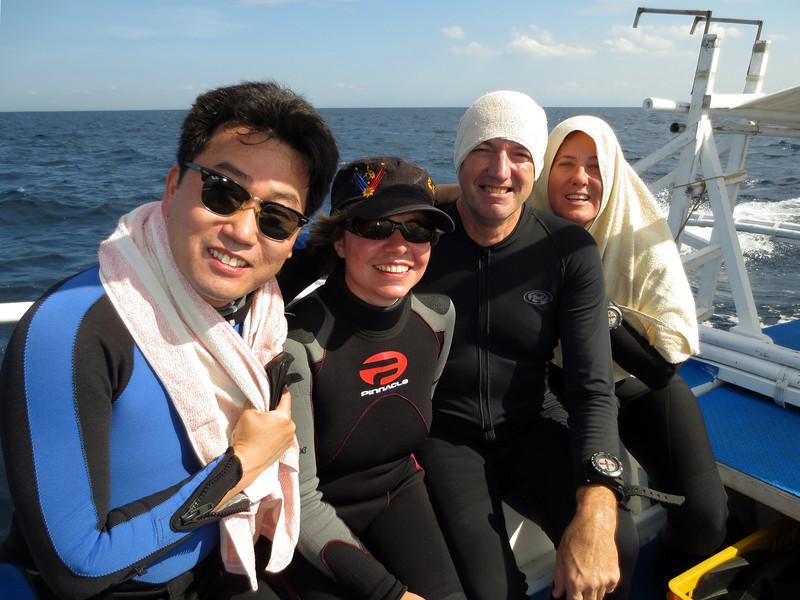 Kevin, Carissa, Fil & Merry.