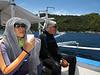 Zung enjoying tea between dives.