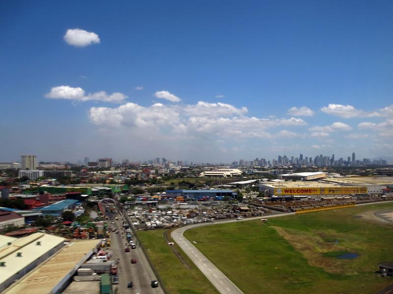 Approaching Manila, Philippines.