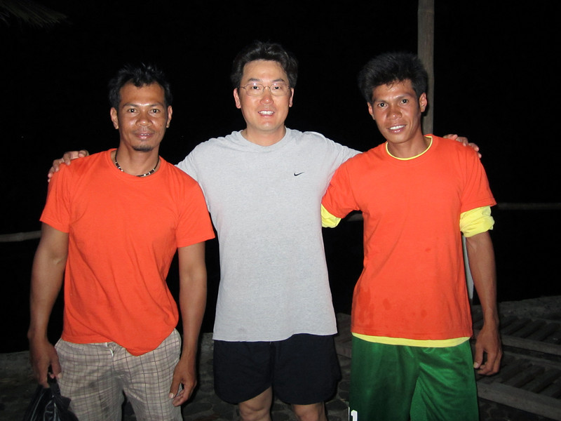Best boatmen in the Philippines, Jeremy & Bodhy<br /> Club-O<br /> Anilao, Philippines