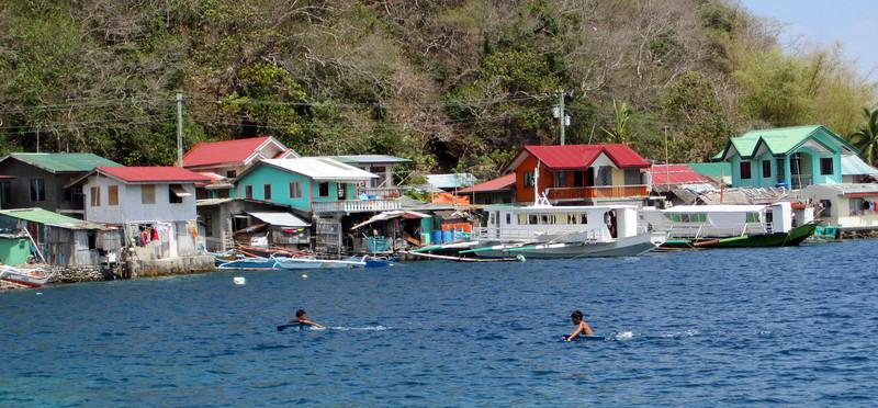 Tub boating<br /> Bethlehem<br /> Anilao, Philippines