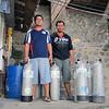 Jeremy and Seldi<br /> Club-O<br /> Anilao, Philippines