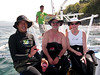 Alexis, Buddy, Joey & Cindy<br /> Anilao, Philippines