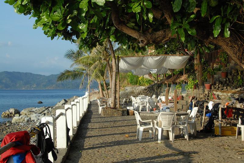 Club-O Dining area<br /> Anilao, Philippines