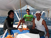 Alexis, Buddy & Jeremy<br /> Club Ocellaris<br /> Anilao, Philippines