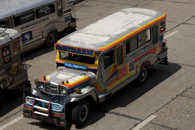 Colorful jeepneys spotted in Baguio, Philippines