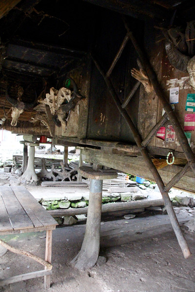 traditional Ifugao house
