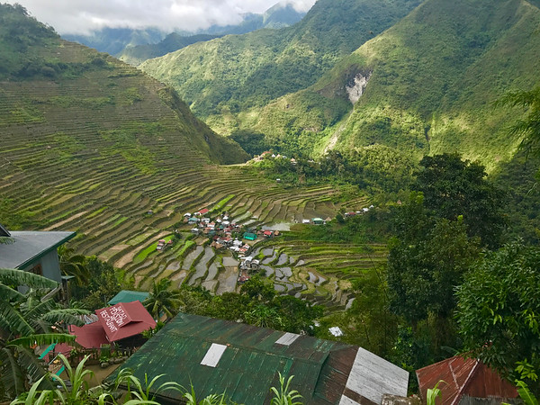 rice terraces of Batad, Philippines