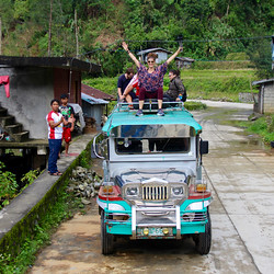 A Love Affair with Jeepneys – Rice Terraces of the Cordillera, Philippines (Video #87)