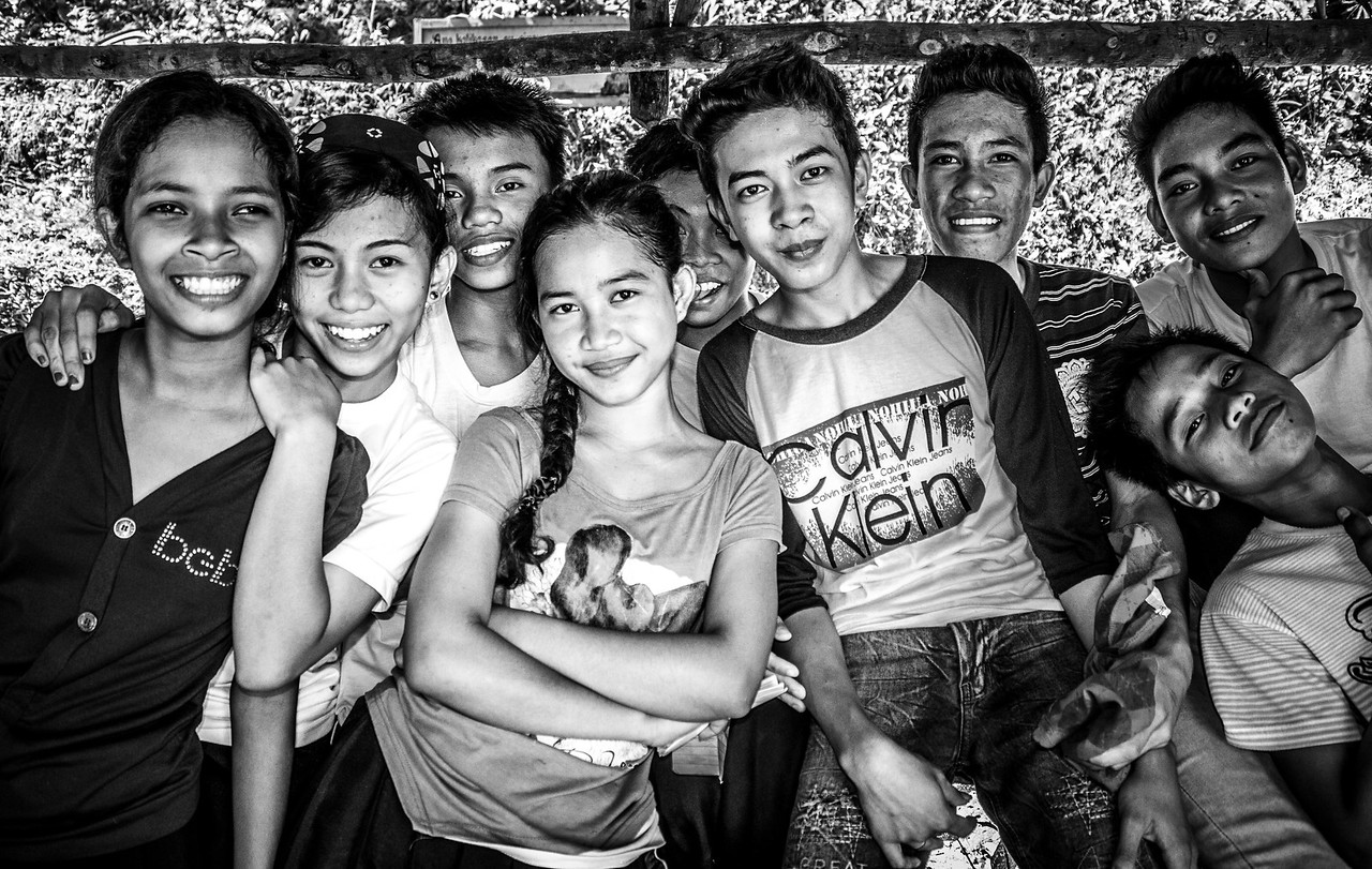 So much joy in this group shot of a rural school around el Nido.
