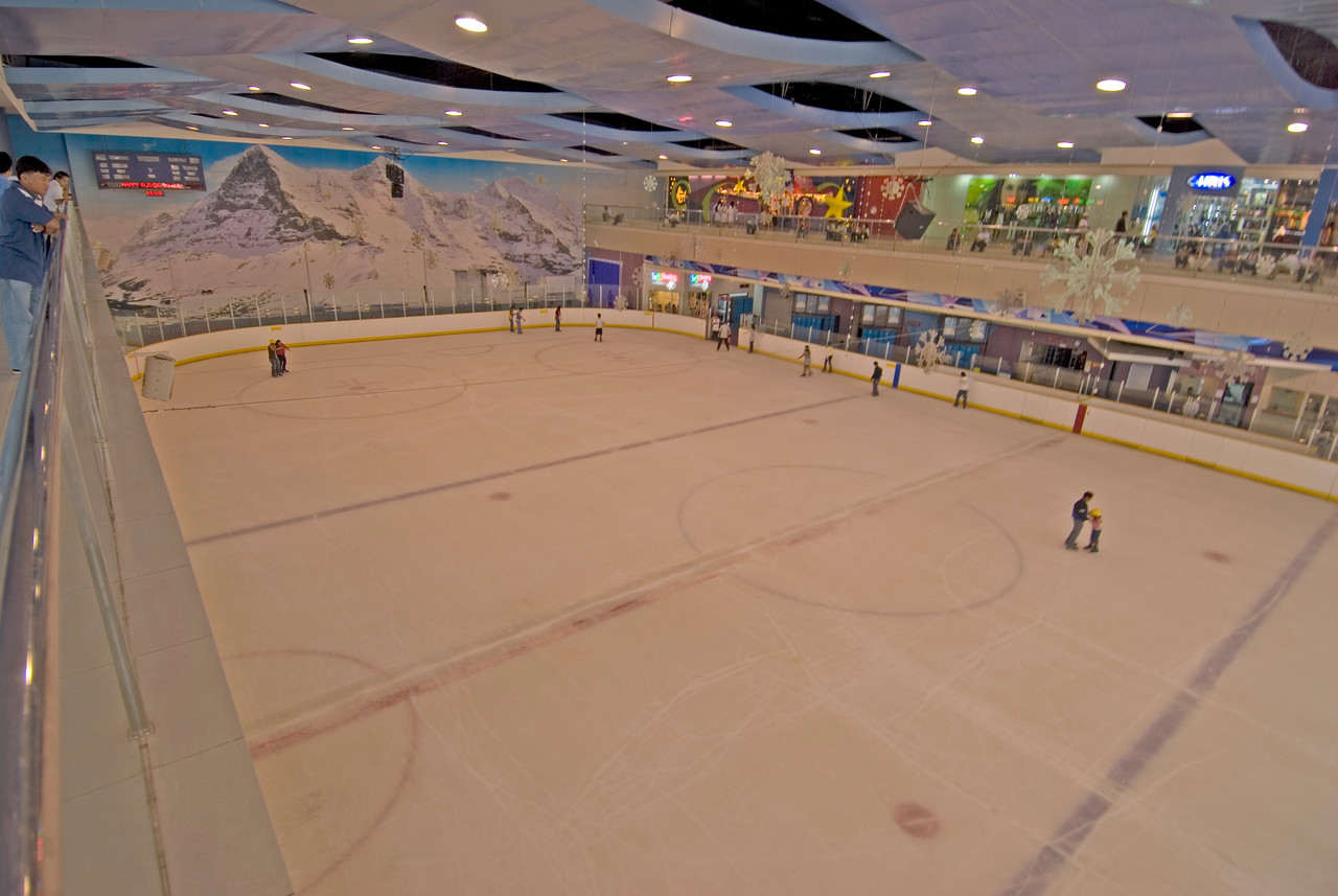 Skating rink inside Mall of Asia, Philippines