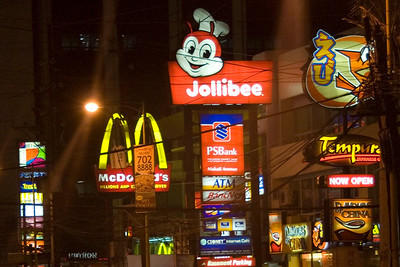 Fast food chain signs spotted in Manila - Manila, Philippines