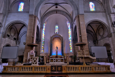 The main altar at the Manila Cathedral - Manila, Philippines