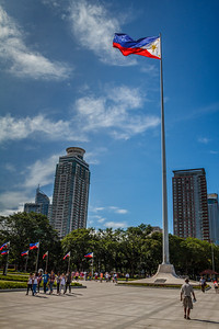 Around Rizal Park.