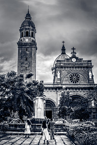 Manila Cathedral.