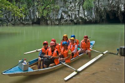 Photo with the Underground River tour group - Palawan, Philippines