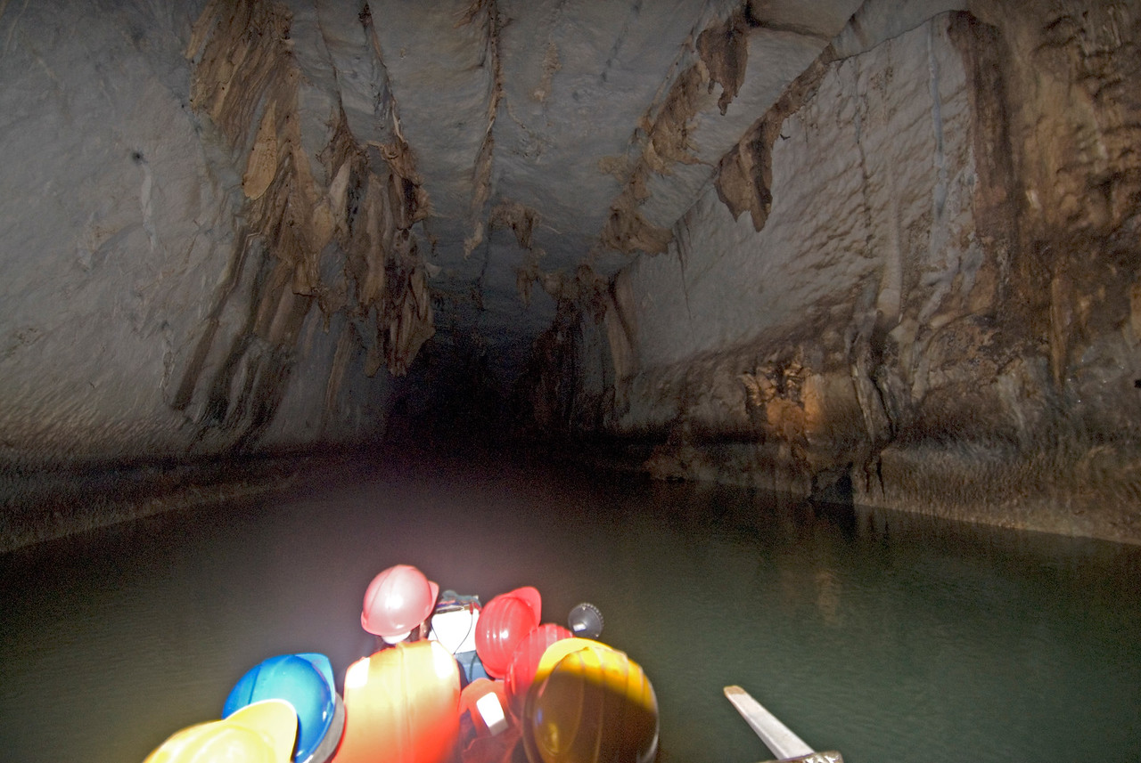 """""""The Highway"""" inside the Underground River - Palawan, Philippines"""