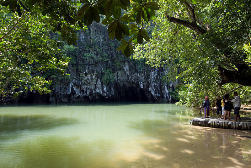 The Undergound River cave entrance - Palawan, Philippines
