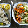 Fresh Fish and Vegetable - great meal