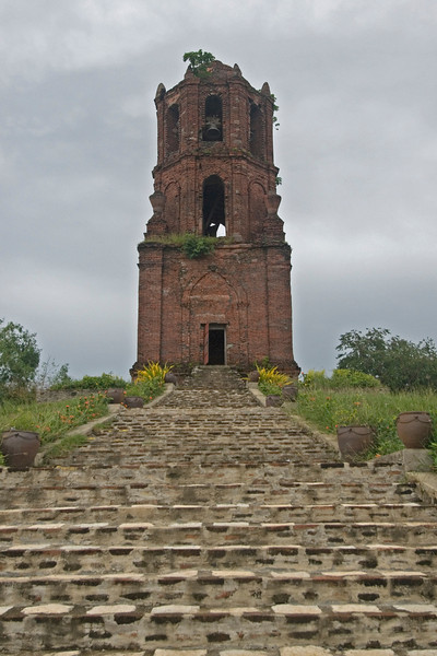 Steps to the St Augistine's Bell Tower - Vigan, Philippines