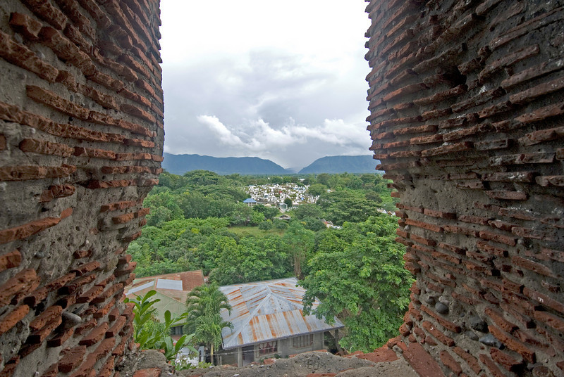 View from Belltower at Vigan Cathedral - Vigan, Philippines