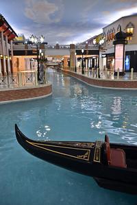 The Villagio Mall...with gondola rides!