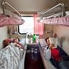 Train to Kashgar, Xinjiang, China.