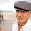 Portrait of Uyghur man in Kucha, Xinjiang, China.