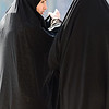 Esfahan, Iran - February, 2008:Women dressed in all black in Esfahan, Iran.  (Photo by Christopher Herwig)