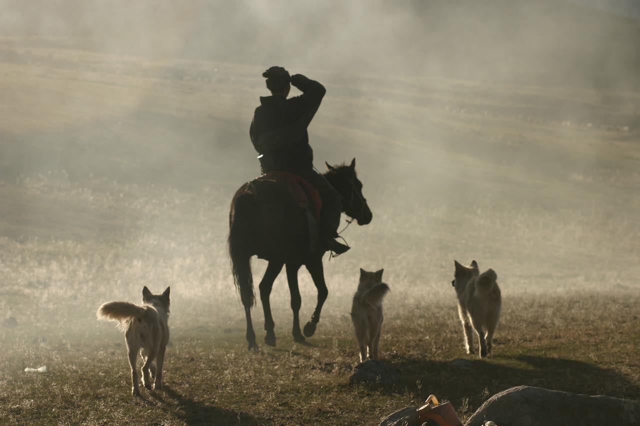 Shepherd's life in Tes Tur