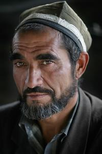 Portrait of a Tajik man