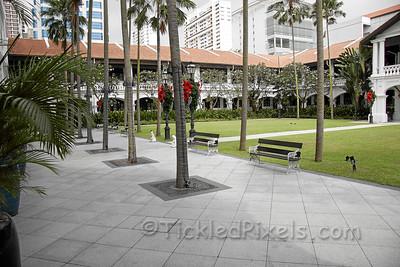 Raffles Hotel Courtyard