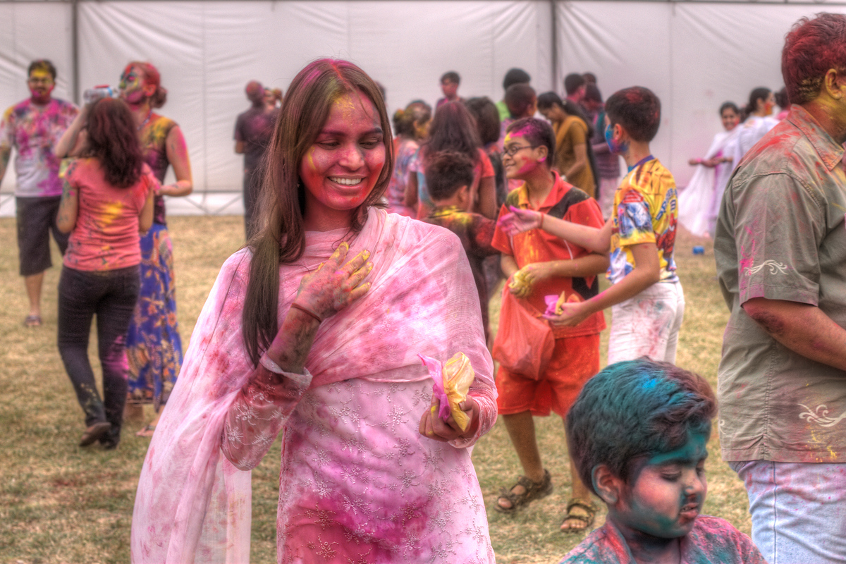 Indian Holi Festival in Singapore