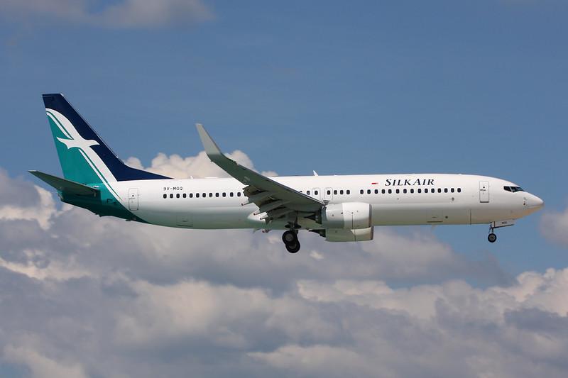 """9V-MGO Boeing 737-8SA """"SilkAir"""" c/n 44231 Phuket/VTSP/HKT 26-11-16"""