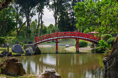 Chinese Japanese Gardens - bridge