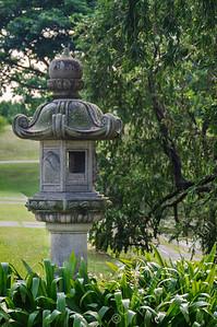 Chinese Japanese Gardens - stone lantern