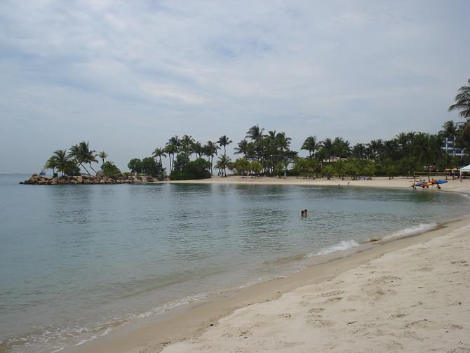 Siloso Beach - Sentosa Island