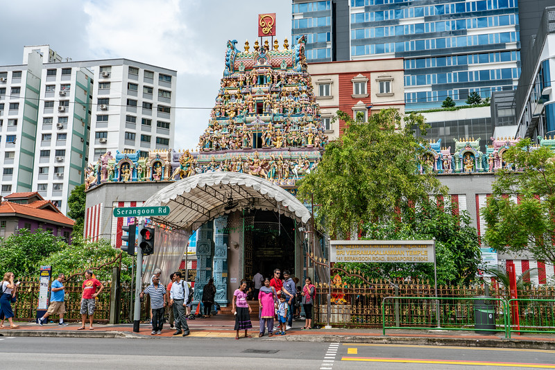 Sri Veeramakaliamman Temple at 141,Serangoon Road is one of the oldest temples in Singapore. Built by Indian pioneers who came to work and live here the temple was the first in the serangoon area and became a focus of early Indian Social Cultural activities there.