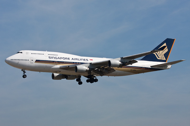 9V-SPA Boeing 747-412 c/n 26550 Frankfurt/EDDF/FRA 01-07-10
