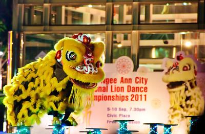 Lion Dance Championships, 2011