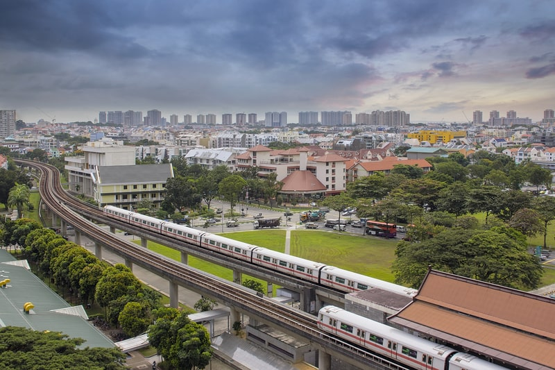 singapore mrt system - public transport is a great way to get around singapore with kids