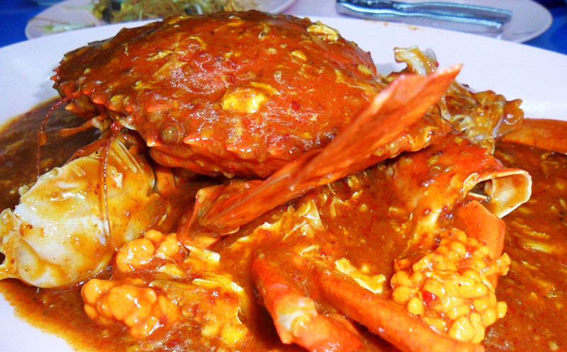chili crabs - how to plan singapore trip