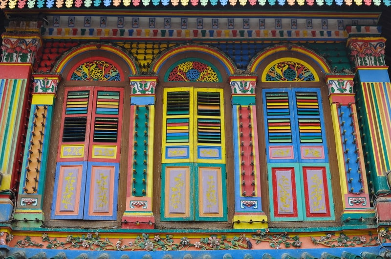 singapore itinerary - colorful little india