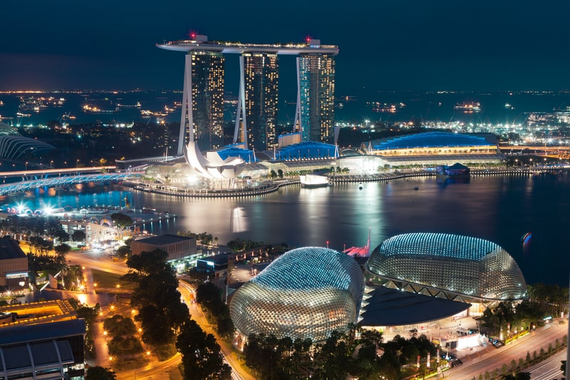 singapore from above - things to do in singapore in 3 days
