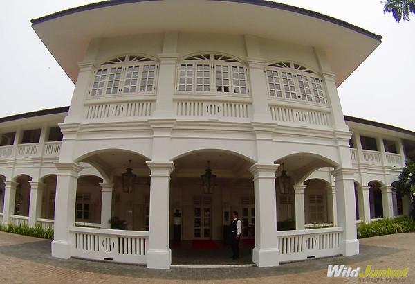Capella Singapore's colonial building