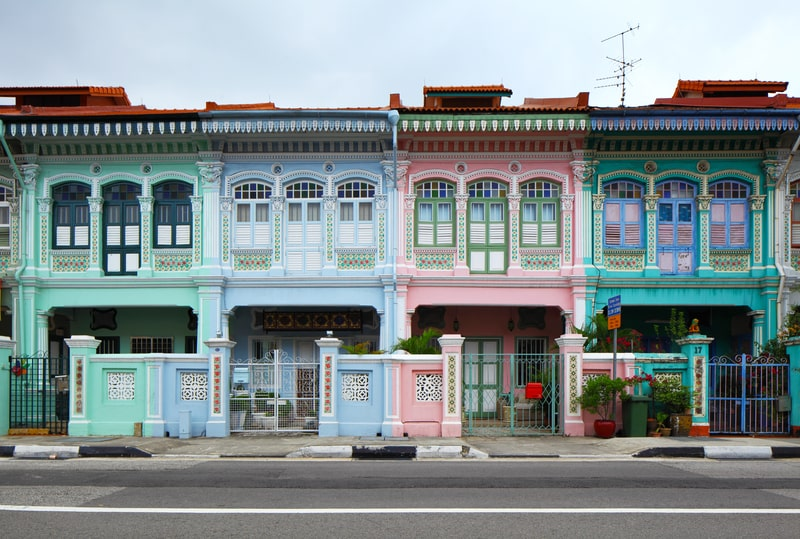 shophouses in singapore - singapore travel itinerary