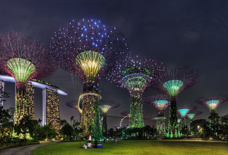 gardens by the bay - travel singapore 3 days