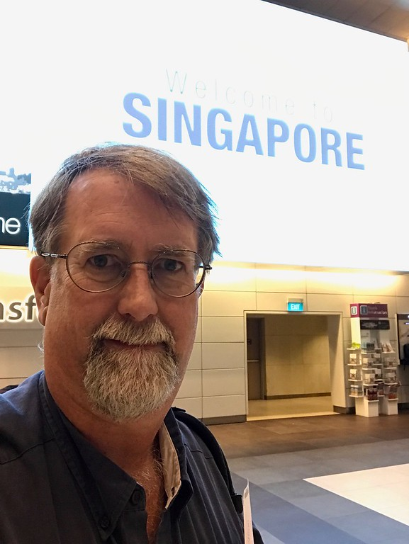 Arriving in Singapore