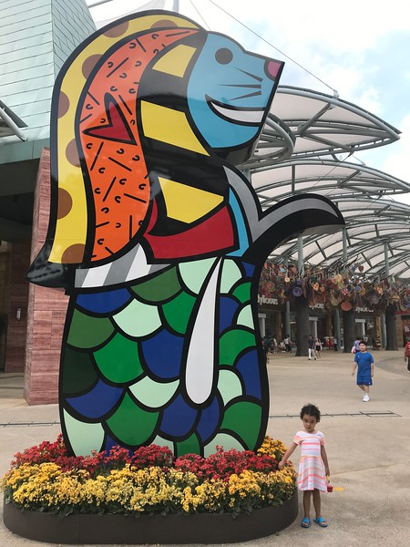 sentosa universal studios and merlion - things to do in singapore with kids